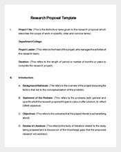 Research-Proposal-Template-Free