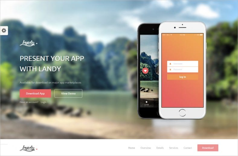 responsive bootstrap landing page 788x517