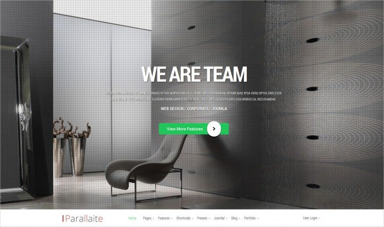 Responsive Corporate Business Joomla Template