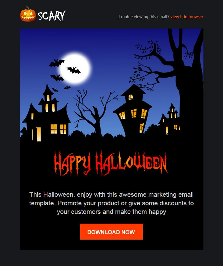 6 Halloween Website Themes & Templates | Free & Premium Templates