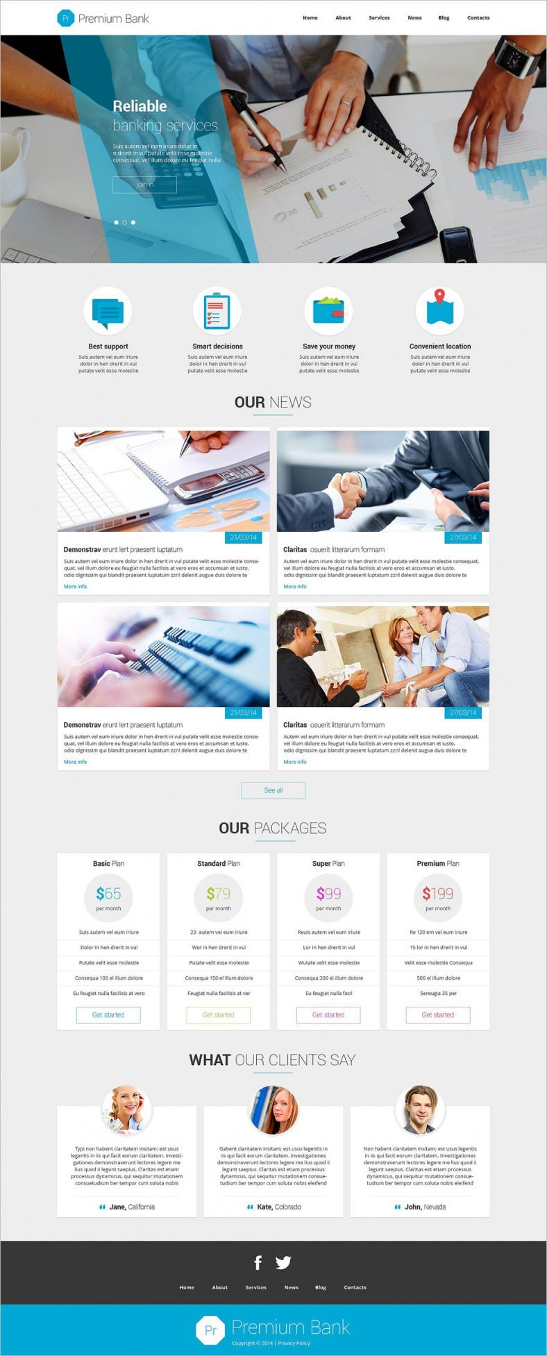 Responsive Financial Institutions & Banking Joomla Theme