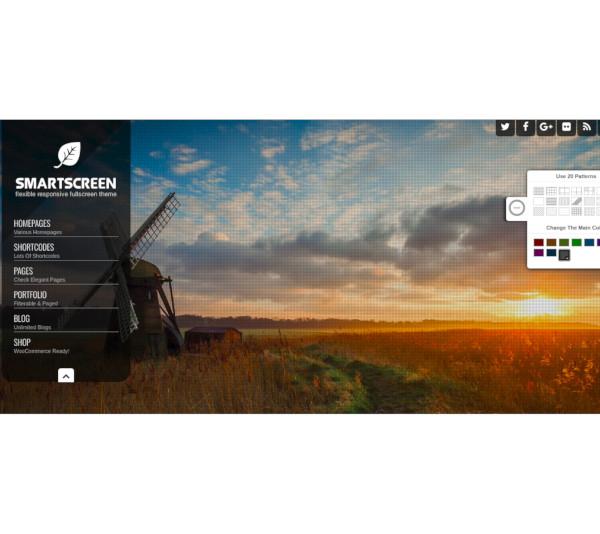 responsive fullscreen wordpress theme
