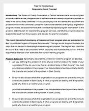 Responsive-Grant-Proposal-Format