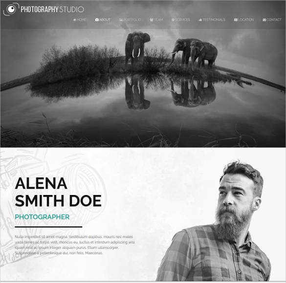 responsive-one-page-photography-website-template
