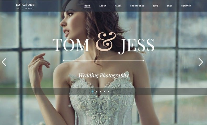 Responsive & Retina Ready Wp Photography Theme
