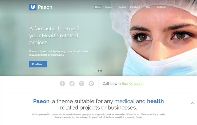 responsive slider wordpress theme for medical 788x501