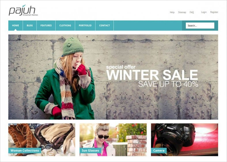 Responsive Virtuemart Templates for Online Shops