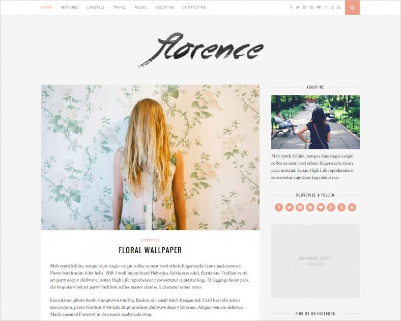 Responsive WordPress Blog Theme