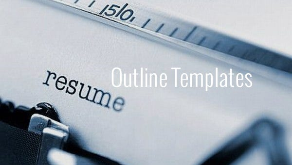 resumeoutlinetemplates