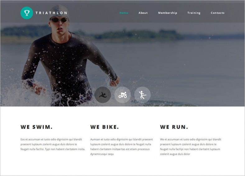 retina ready parallax gallery html website template 788x567