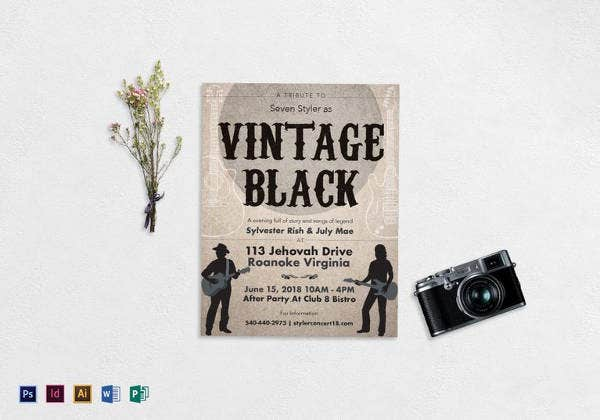 revised-vintage-music-flyer-template