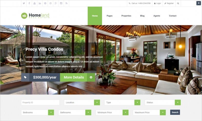 seo friendly real estate wordpress theme 788x475