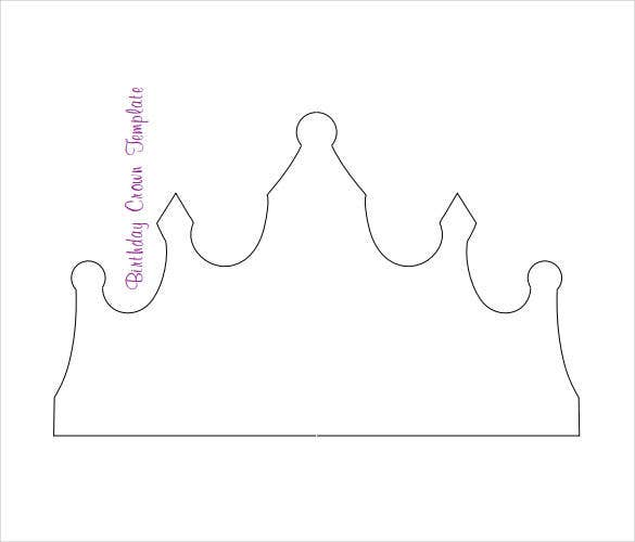 graphic regarding Crown Stencil Printable identify 21+ Paper Crown Templates - PDF, Document Totally free High quality Templates