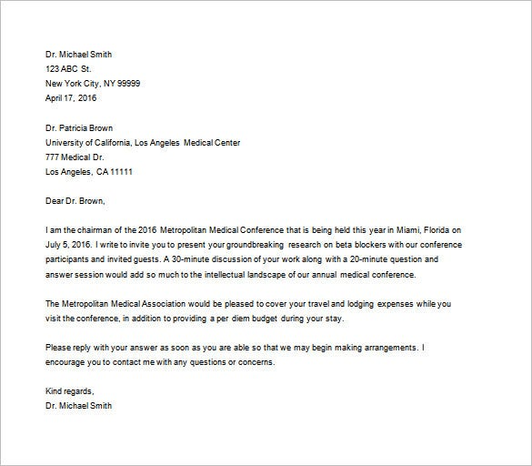 Example Business Letter. Business Proposal Template 11 30+