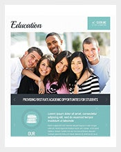 Sample Education Facebook Template Free