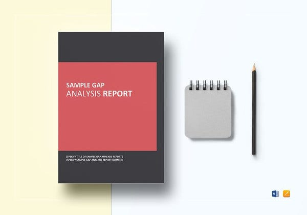 sample gap analysis report template