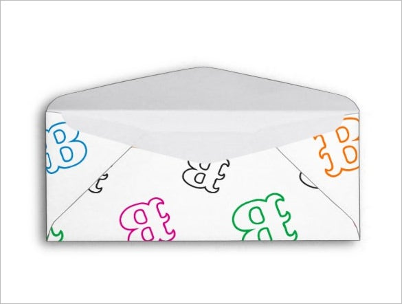 Letter Envelope Templates   Free Printable Sample Example