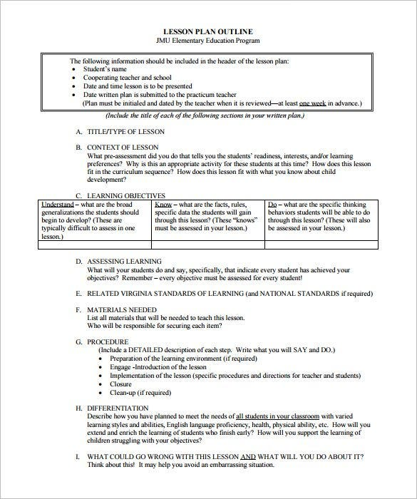 httpsimagestemplatenetwpcontentuploads201 – Sample Physical Education Lesson Plan Template
