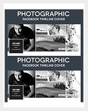 Sample Photographic Facebook Timeline Cover PSD Template