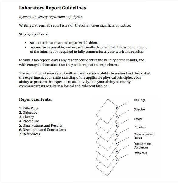Electrician how to write a research report