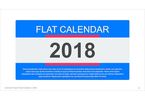 sample powerpoint calendar template download