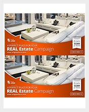 Sample Real Estate Web & Facebook Banner Template