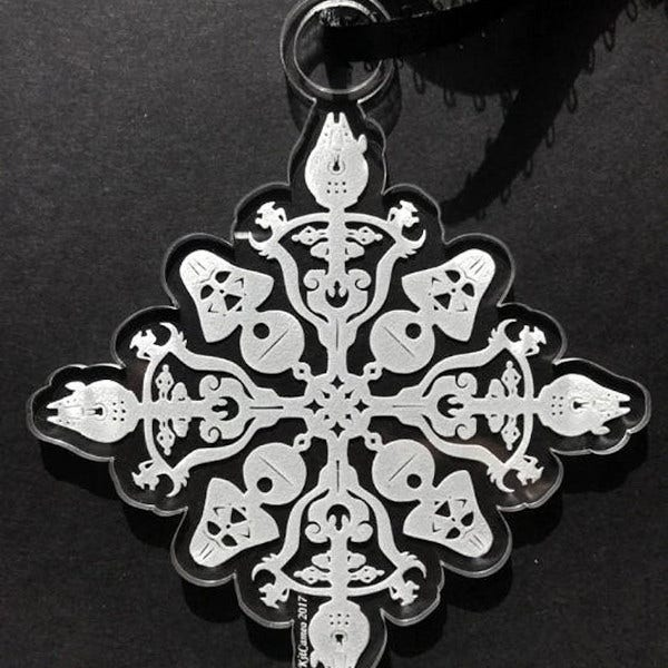sample star wars snowflake ornament