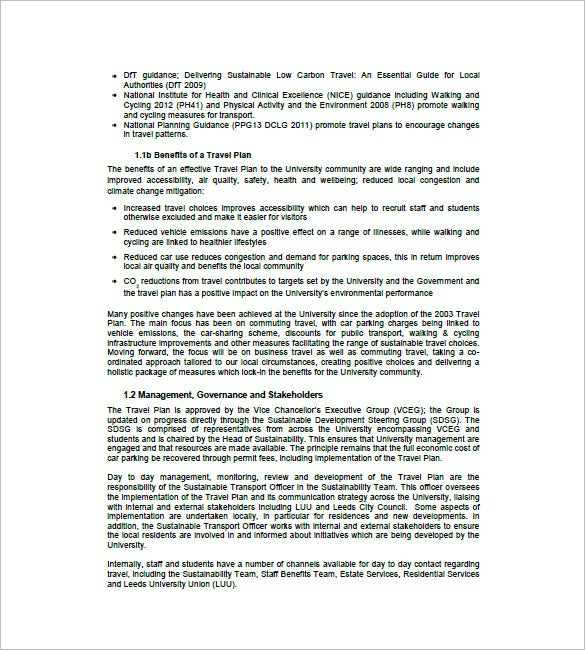 Travel business plan template 9 free sample example format leeds sample travel business plan template lists down various benefits of a travel business plan information regarding the management cheaphphosting Gallery