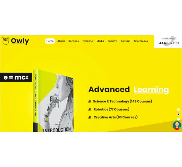 school tutor wordpress theme