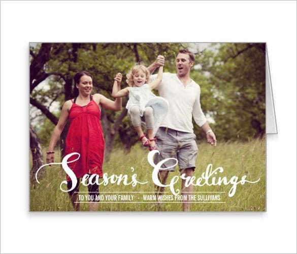 Holiday Card Template – 24+ Free Printable Word, PDF, PSD, EPS ...
