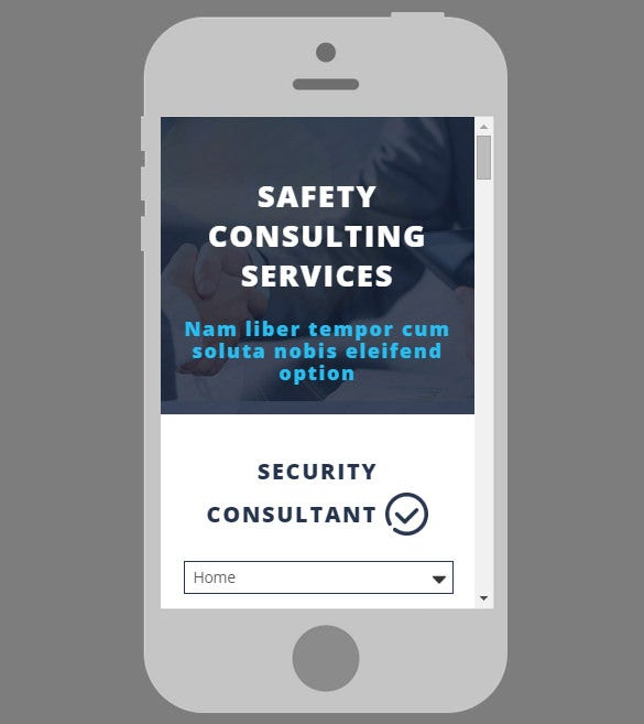 security adviser website template