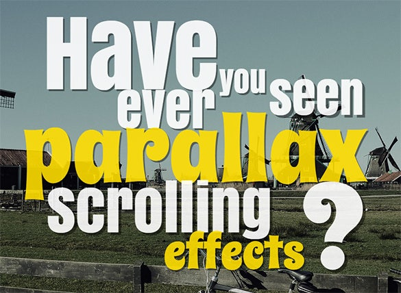 12 parallax scrolling html5 css templates free for Free html5 parallax scrolling template