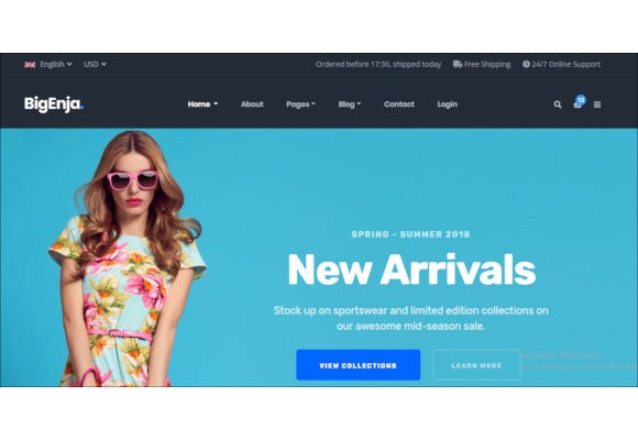 shopping business ecommerce cart html template