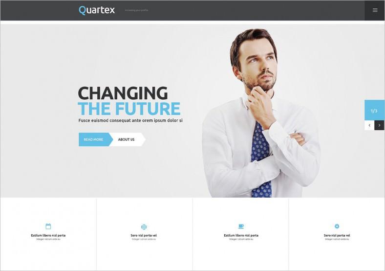 Simple Business Responsive WordPress Theme