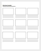 Simple-Printable-Film-Storyboard-Template-Free