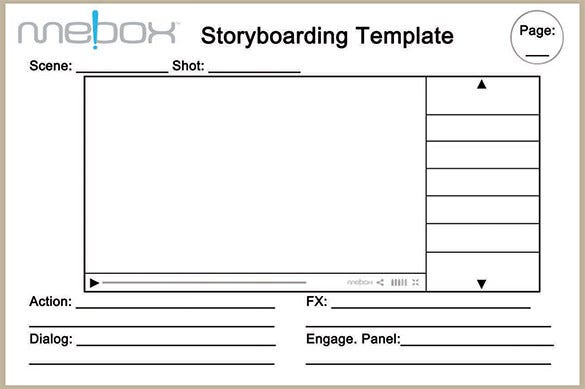 Top Result  Best Of Magazine Storyboard Template Photography