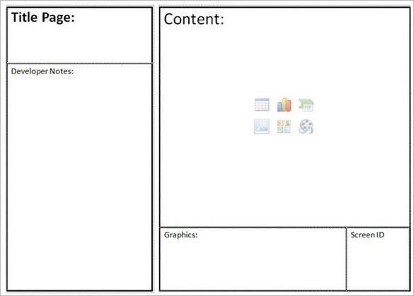 Website Storyboard Storyboard Basic Site Structure Pre Website