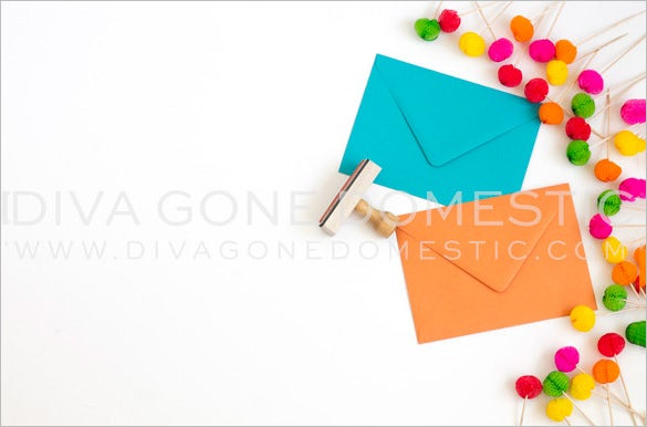 Small Envelope Template   Free Printable Sample Example
