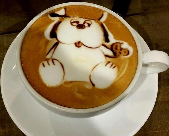 snoopy coffee best art