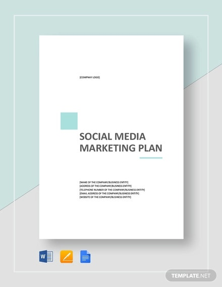 Social Media Marketing Plan Templates