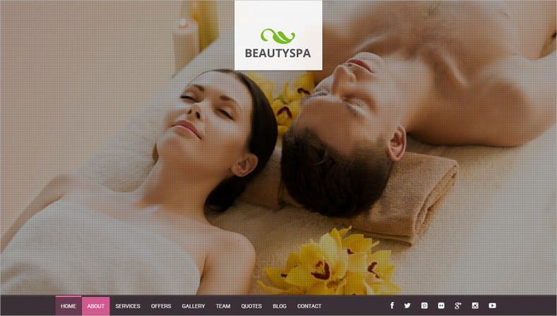 spa landing wordpress theme 788x447