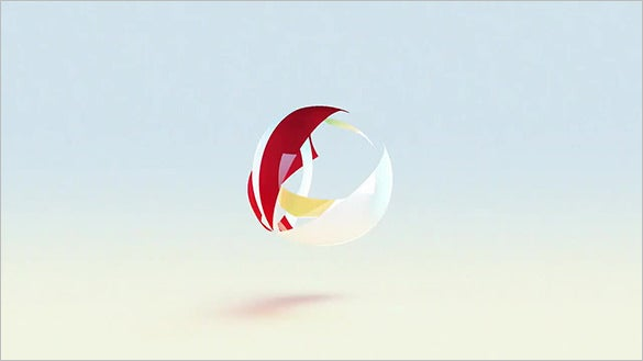 sphere logo after effects template