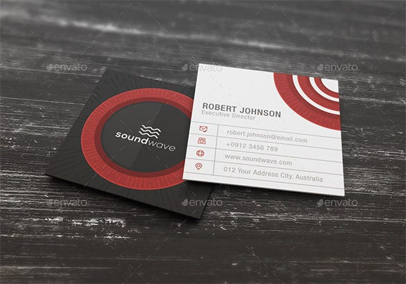 Calling card template 17 free sample example format download square business calling card template fbccfo Images
