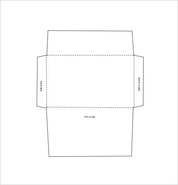 square envelop template word free download - Free Envelope Template