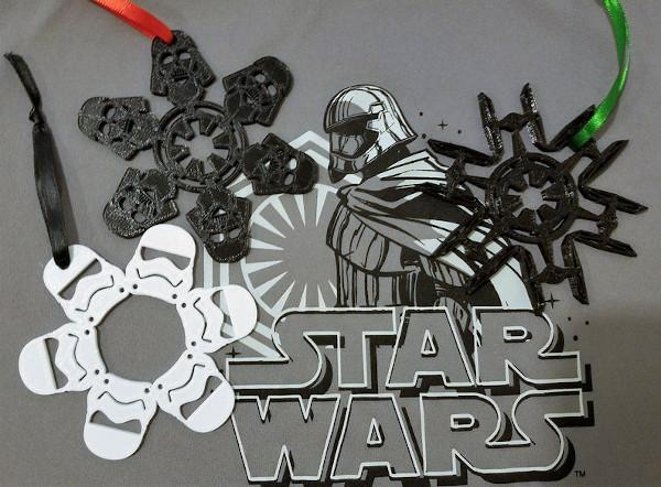 star wars dark snowflake template