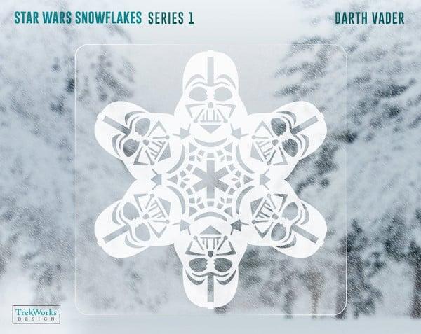 star wars snowflake window template