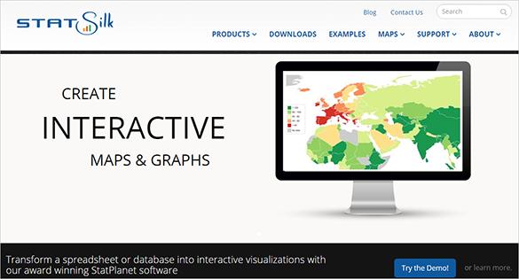 statsilk infographic design tools