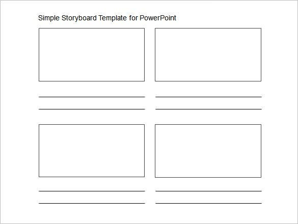 powerpoint storyboard template � 7 free sample example