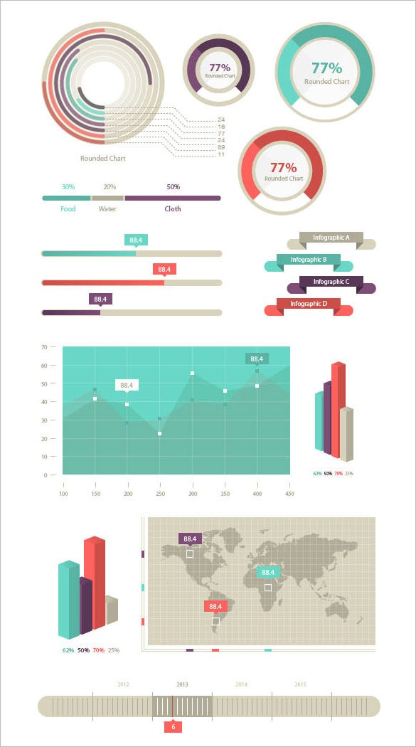 stunning free infographic elements download