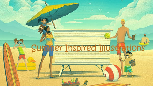 summerinspiredillustrations